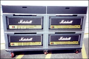 R Amp R Cases Band Gear Marshall Amp Cases